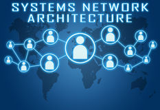 Systems Network Architecture Photographie stock libre de droits