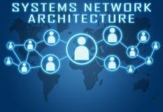 Systems Network Architecture Fotografía de archivo libre de regalías