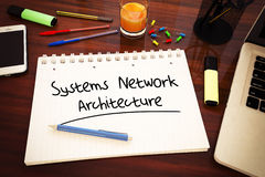 Systems Network Architecture Image libre de droits