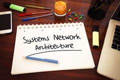 Systems Network Architecture Imagen de archivo libre de regalías