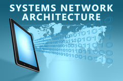 Systems Network Architecture Stock Photo
