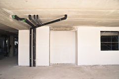Systemswasserrohrleitung Stockfotos