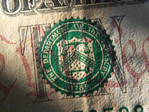 Systemsymbol Vereinigter Staaten Federal Reserve Stockbild