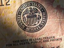 Systemsymbol Vereinigter Staaten Federal Reserve Stockbilder