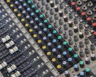 Systemu dźwiękowego pulpit operatora Obraz Royalty Free