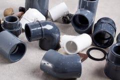 Systemu PVC-U dopasowania Zdjęcie Royalty Free