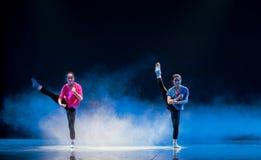 Syster-se för denmoderna dansen Royaltyfri Bild