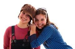 syster två Arkivfoton