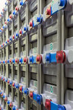 Système d'alimentation de secours industriel Photographie stock
