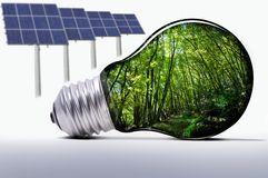 système d'eco Images stock