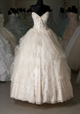 Système de robe de mariage Images libres de droits
