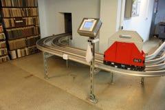 Système de transport de monorail Photographie stock