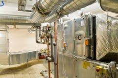 Système de ventilation Photo stock