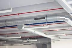 Système de ventilation Photographie stock libre de droits