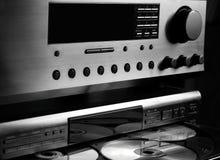 Système sonore de Salut-Fin Image libre de droits