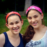 systrar Royaltyfri Bild