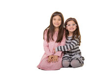 2 systrar eller vänner Arkivbilder
