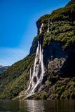 Systrar för vattenfall sju Arkivfoto