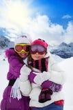 Systrar på semester Royaltyfria Bilder