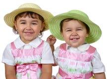 systrar tillsammans Royaltyfri Foto