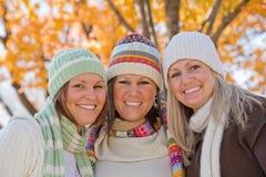 systrar tre Royaltyfri Fotografi
