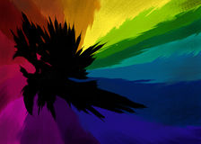 syzygy technicolor Στοκ εικόνα με δικαίωμα ελεύθερης χρήσης