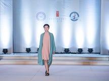 Szósty serii Yi mody przedstawienie Obraz Royalty Free