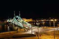 SzabadsÃ-¡ g-Brücke Ungarn Budapest lizenzfreie stockbilder