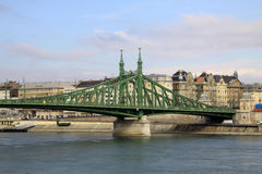 Szabadsag hid  in Budapest, Hungary Stock Photography