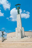 自由女神象在布达佩斯 免版税库存图片