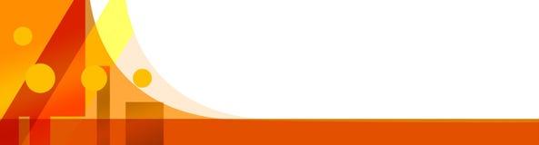 szablon banner miasta Obraz Stock
