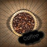 Szablon dla kawa domu menu Zdjęcia Royalty Free