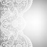 Koronkowy tkaniny tło Zdjęcie Stock