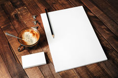 Szablon dla projektów portfolios Fotografia Stock