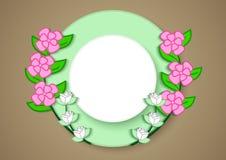 szablon nagrody roślina ilustracji