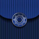szablonu błękitny rocznik Zdjęcie Stock