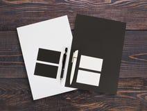 Szablonu biznes dla oznakować tożsamość przedsiębiorstw więcej mojego portfolio określa wzór Fotografia Stock