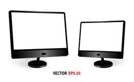 Szablonu dwa monitory ilustracji