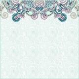szablonu ornamentacyjny rocznik Obrazy Royalty Free
