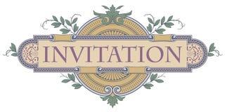 Szablonu ulotka, zaproszenia lub kartka z pozdrowieniami, ilustracji