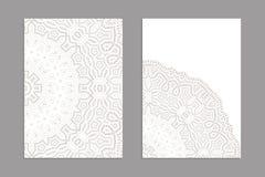Szablony dla witać i wizytówki, broszurki, pokrywy z tureckimi motywami royalty ilustracja
