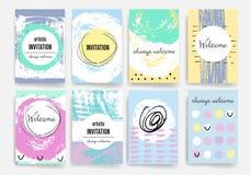 szablony Projekta set sieć, poczta, broszurki Wisząca ozdoba, technologia, Infographic pojęcie Zdjęcie Royalty Free