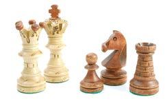 szachowa gra Zdjęcia Stock