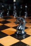 szachowa gra Obrazy Royalty Free