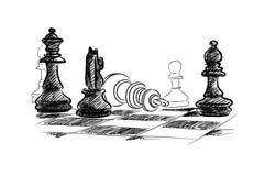 Szachowa gra Obraz Royalty Free