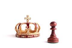 szachowa postać Obrazy Royalty Free