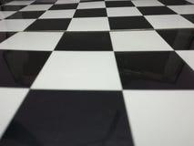 Szachowej deski checker gra planszowa fotografia royalty free