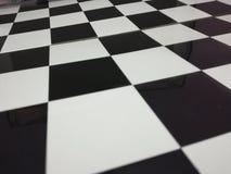 Szachowej deski checker gra planszowa fotografia stock