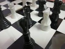 Szachowej deski checker gra planszowa zdjęcia stock
