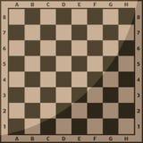 Szachowej deski i bierki tła czasu wolnego pojęcia rycerza wektorowej grupy kawałek rywalizacja biała i czarna royalty ilustracja